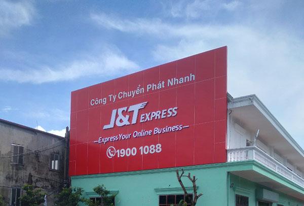 Làm biển quảng cáo J&T Hải Phòng