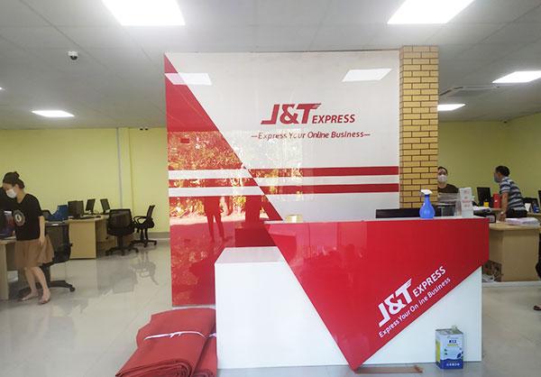 Lắp đặt biển quảng cáo J&T Hải Phòng