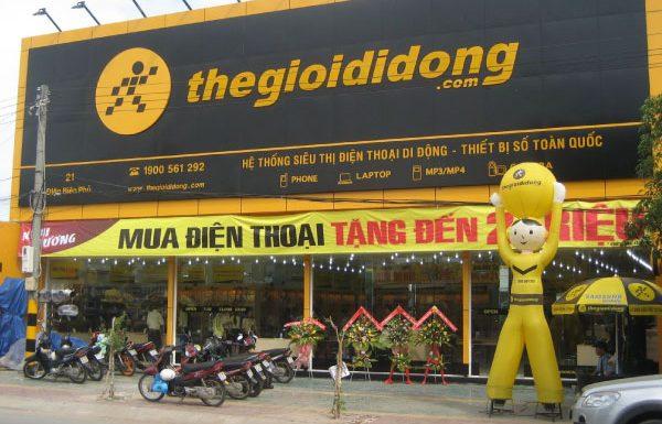 Thi công biển quảng cáo cho siêu thị điện máy tại Hải Phòng