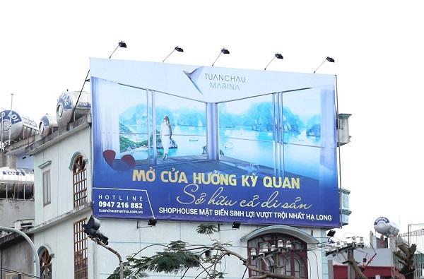 Thi công biển quảng cáo tại Hải Phòng