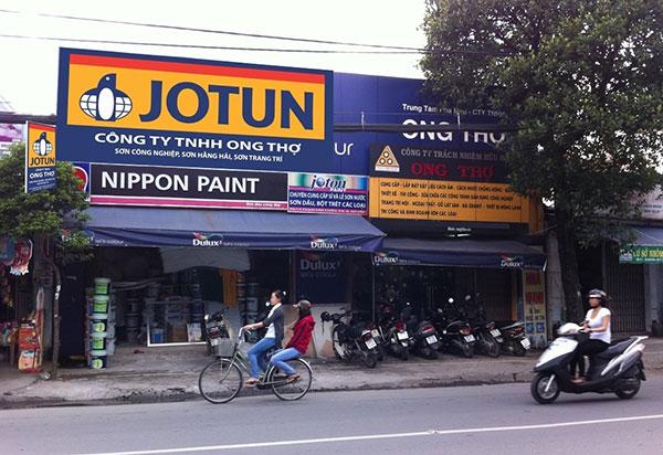 Thi công biển quảng cáo tại quận Dương Kinh