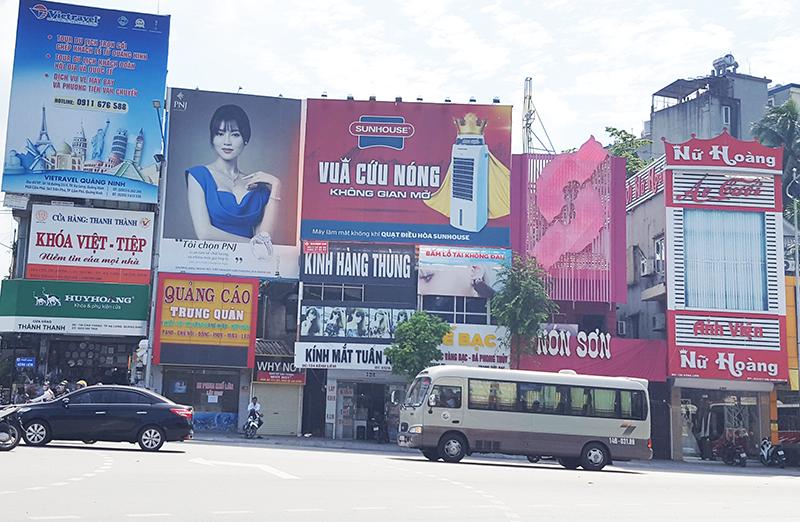 Thi công biển quảng cáo tại quận Hải An