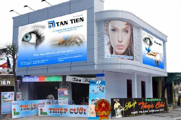 Thi công biển quảng cáo tại quận Kiến An