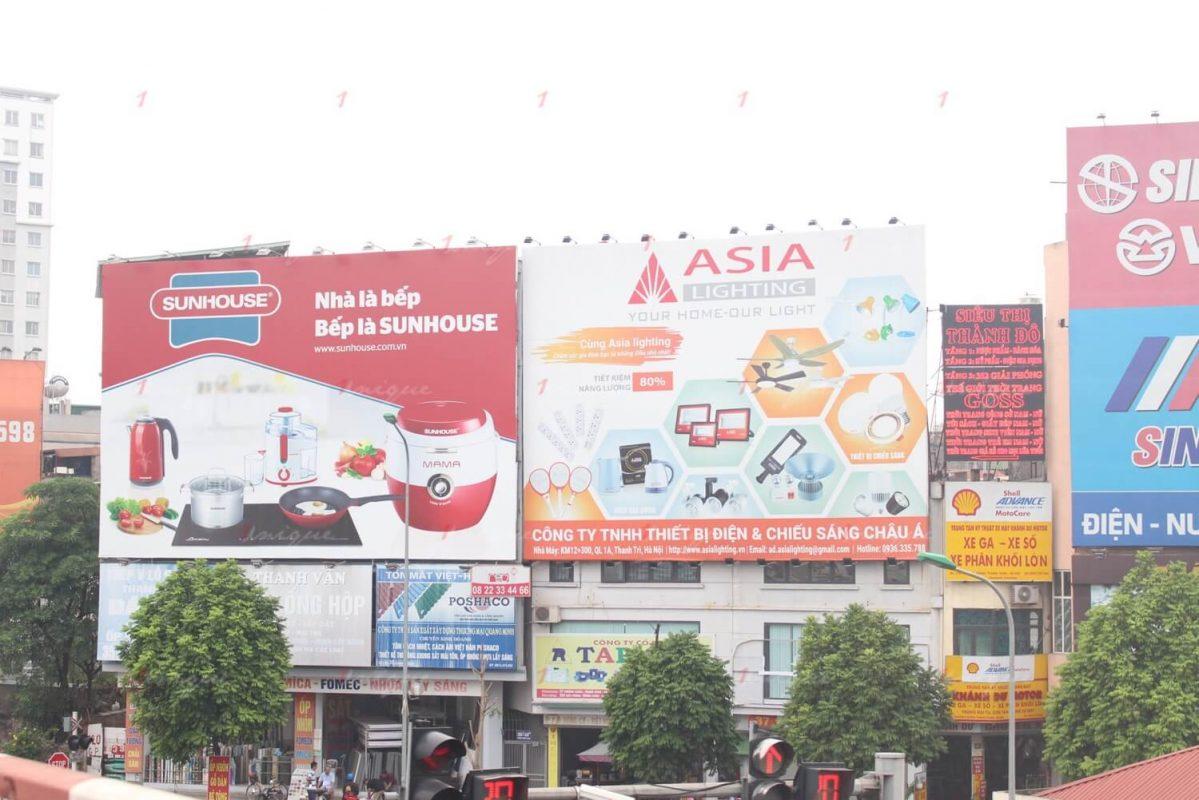 Thi công biển quảng cáo tại quận Lê Chân