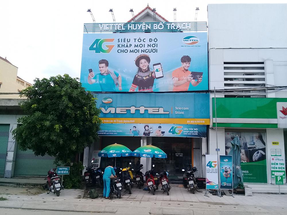 Thi công biển quảng cáo tại quận Ngô Quyền